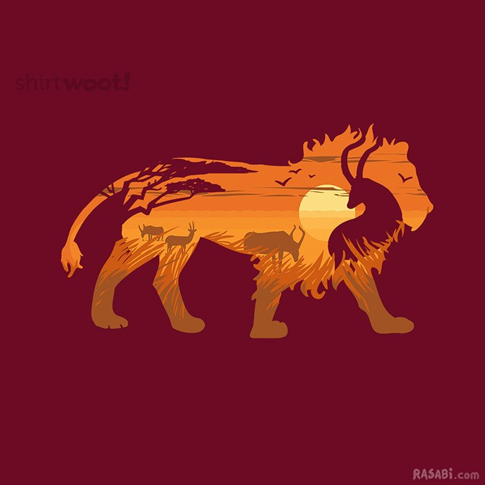 BUY @ SHIRT.WOOT $11   	Circle of Life
