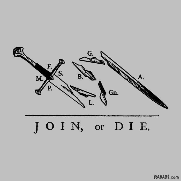 t-shirt fellowship lotr