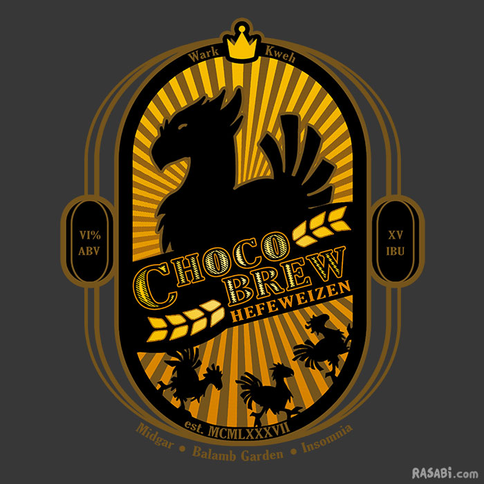 t-shirt meteor is coming house wark chocobo final fantasy